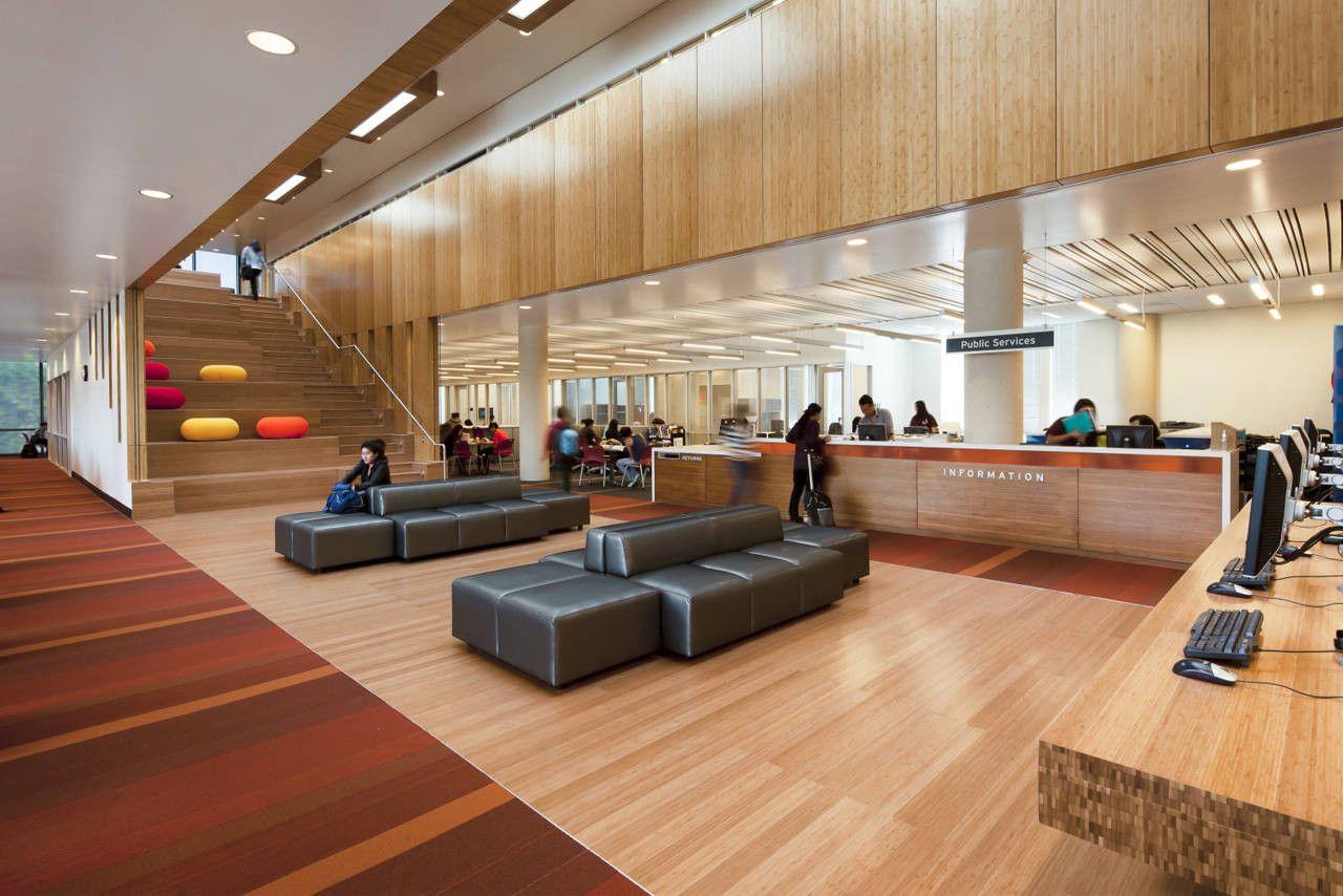 Gallery of golden west college steinberg architects 7 - Interior design curriculum high school ...