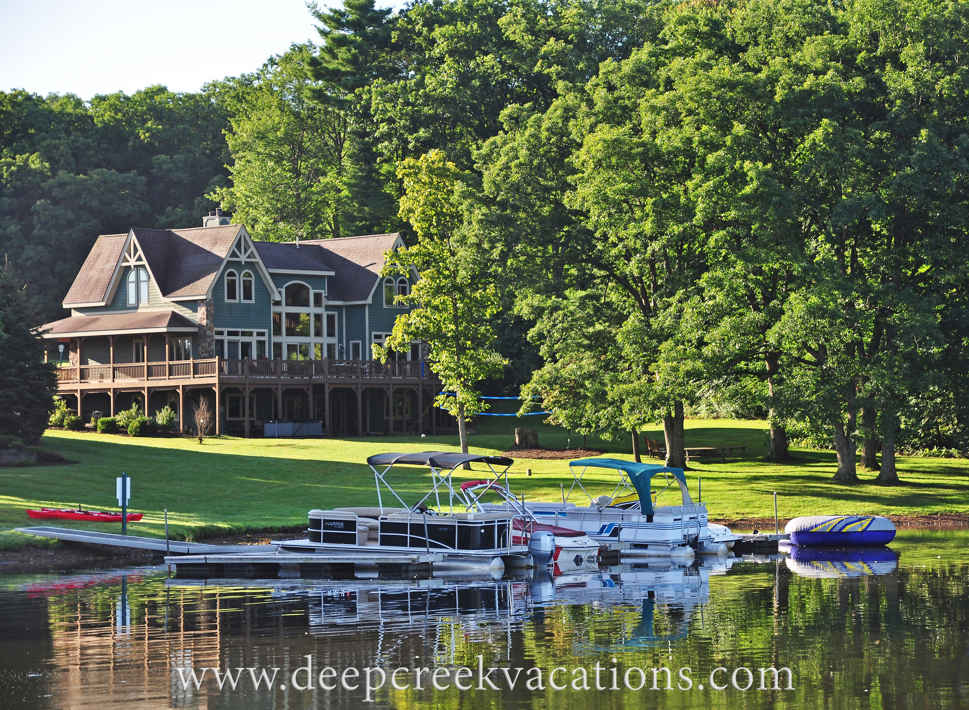 Summer Dreaming Deep Creek Lake Resort Area Lake