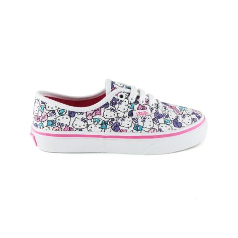 Shop for Girls Youth Vans Authentic Hello Kitty Skate Shoe in White at Journeys  Kidz.