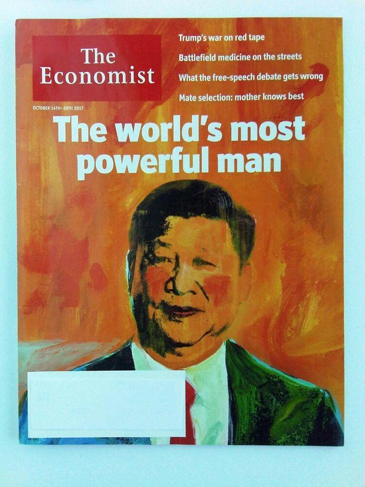 The Economist October 14 to 20, 2017 Xi Jinping, Trump ...