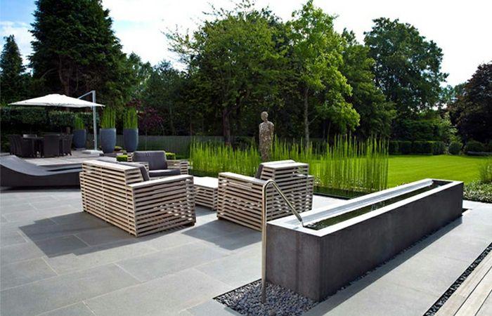 Coole Gartenmöbel moderner garten coole gartenmöbel bodenfliesen tuin