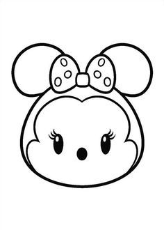 27 coloring pages of Tsum Tsum | Tsum Tsum | Pinterest | Coloring ...