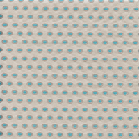 Lumiere Bermuda Blue Dot Drapery Fabric by Duralee