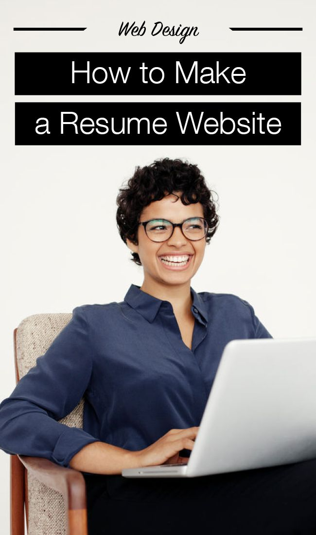 How to Make Your Own Resume Website in Record Time Wix Blog - resume website
