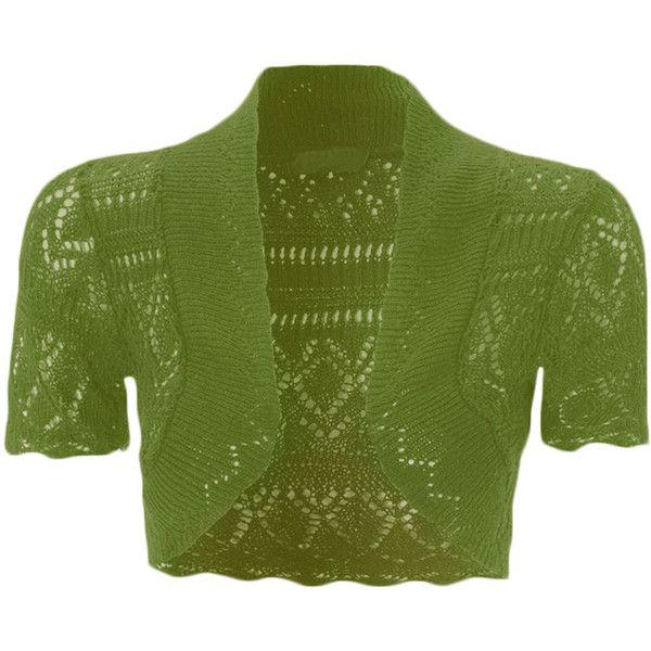 Ladies Womens Crochet Knitted Bolero Crop Shrug Summer Cardigan Girls Dress Top