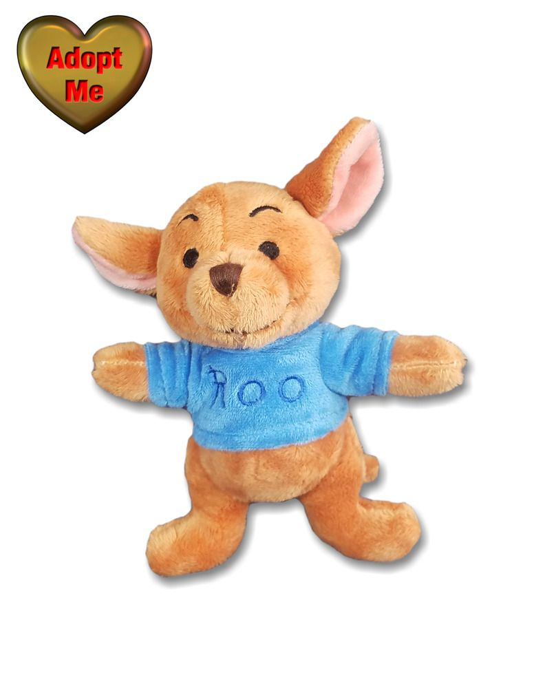 Disney Winnie The Pooh Friend Roo Kangaroo Joey Stuffed Plush Animal Toy 6in Disney Pet Toys Animal Plush Toys Winnie The Pooh Friends