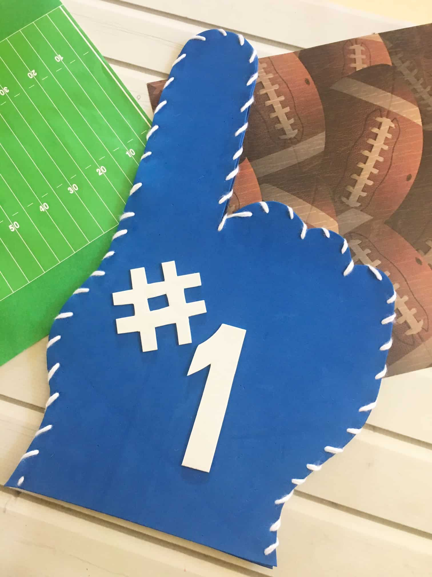 design your own diy foam finger with this foam finger template this
