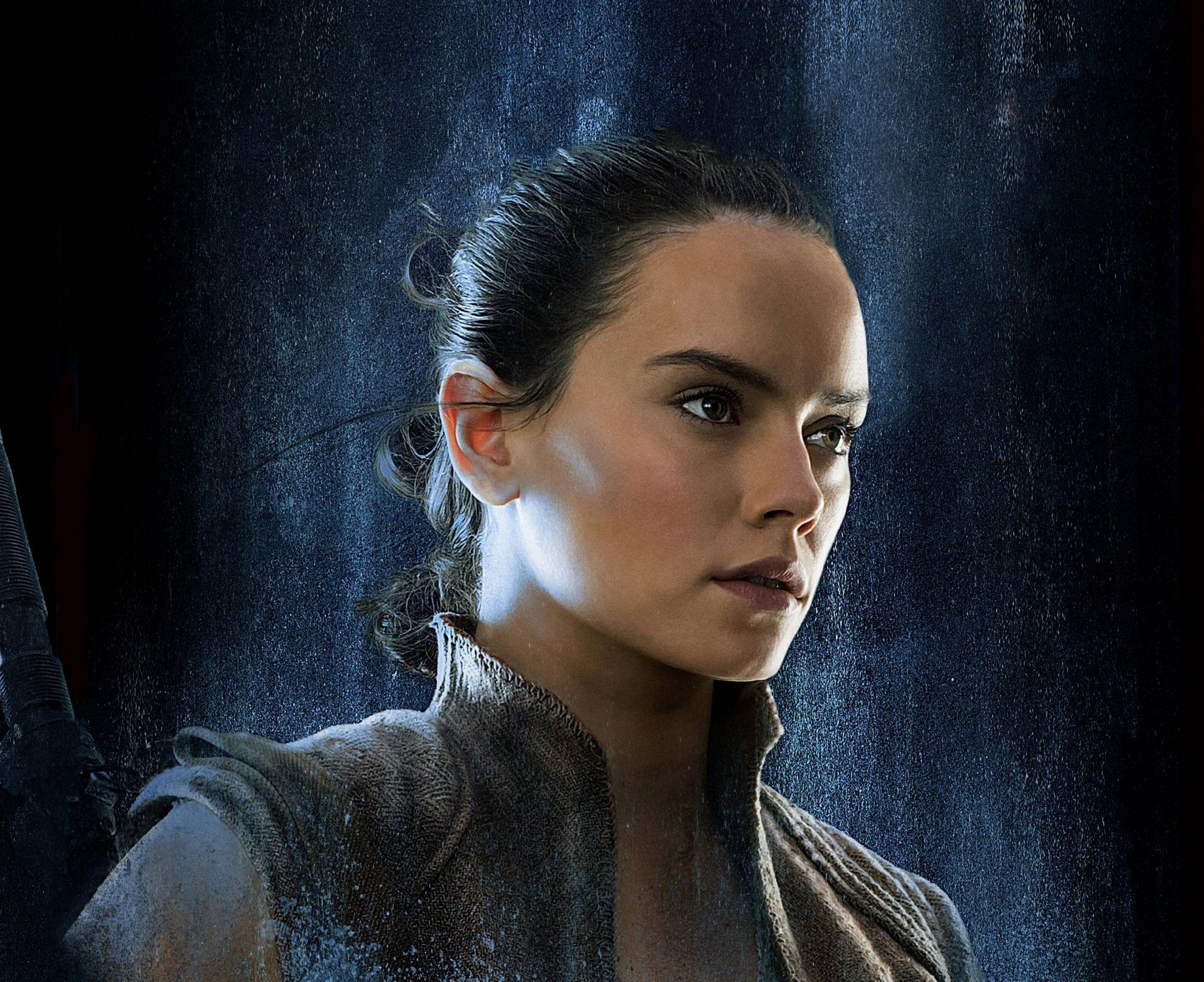 Star Wars The Last Jedi Daisy Ridley Rey 2k Wallpaper Hdwallpaper Desktop Rey Star Wars Star Wars Watch Daisy Ridley Star Wars