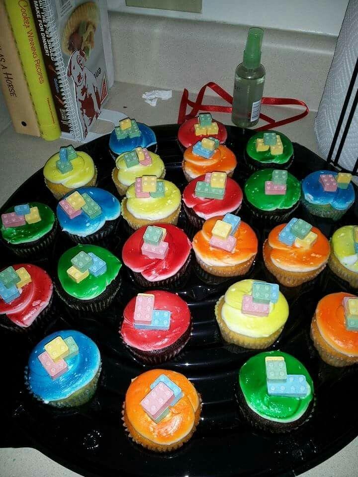 Made some Lego Cupcakes