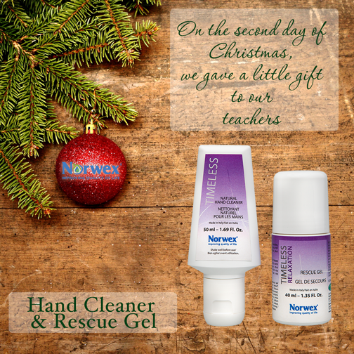 Looking for the perfect gift for the teacher in your life? Give the gift of Norwex! We have several personal use products that are great for teachers like: Hand Cleaner, Rescue Gel and Optic Scarf. The Travel Enviro Cloths are a great option for keeping classrooms clean and free of harmful chemicals! What gifts would you give to be the teacher's pet?