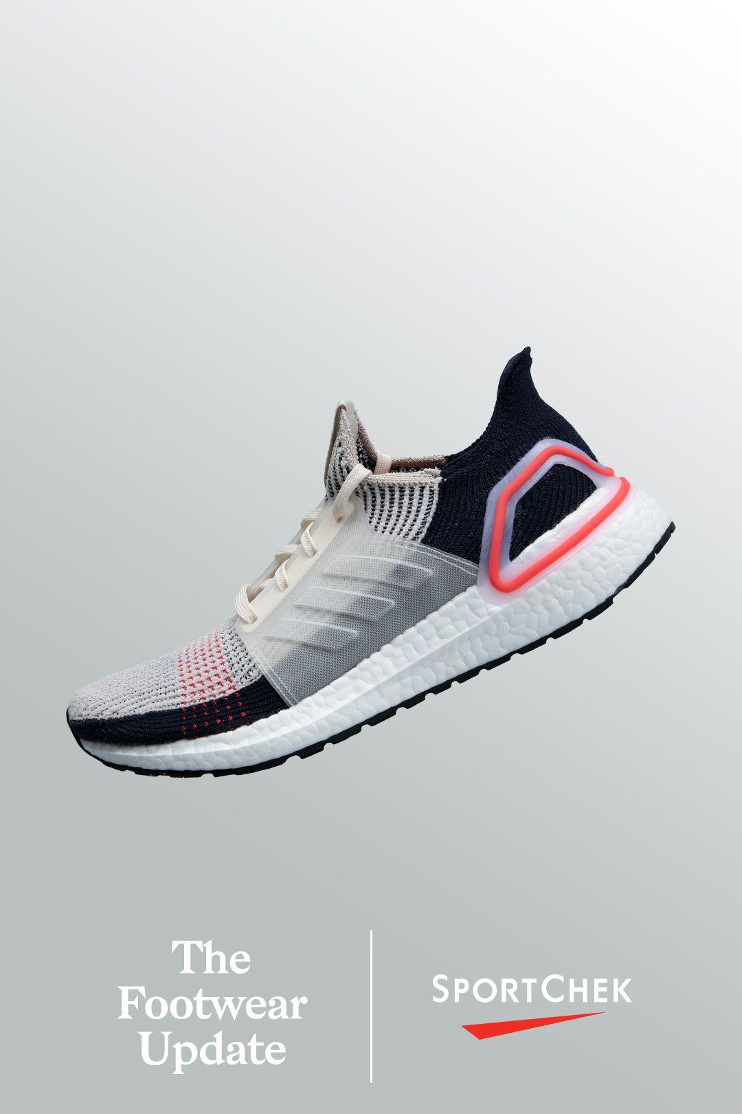 adidas Men's Ultraboost 19 Running Shoes BrownWhiteShock