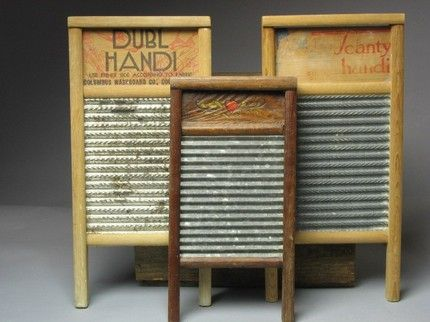 Washboards | Old washboards, Vintage laundry, Washboard