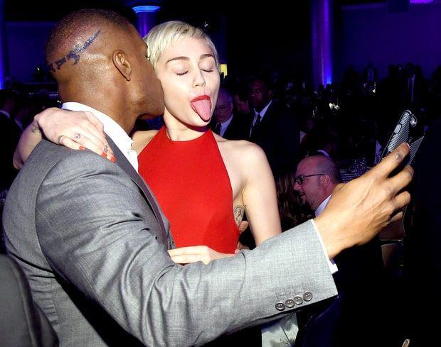 Jamie Foxx, Miley Cyrus
