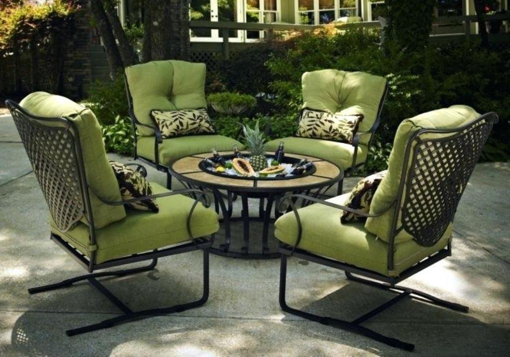 Cast Iron Patio Furniture, Rod Iron Patio Furniture Cushions