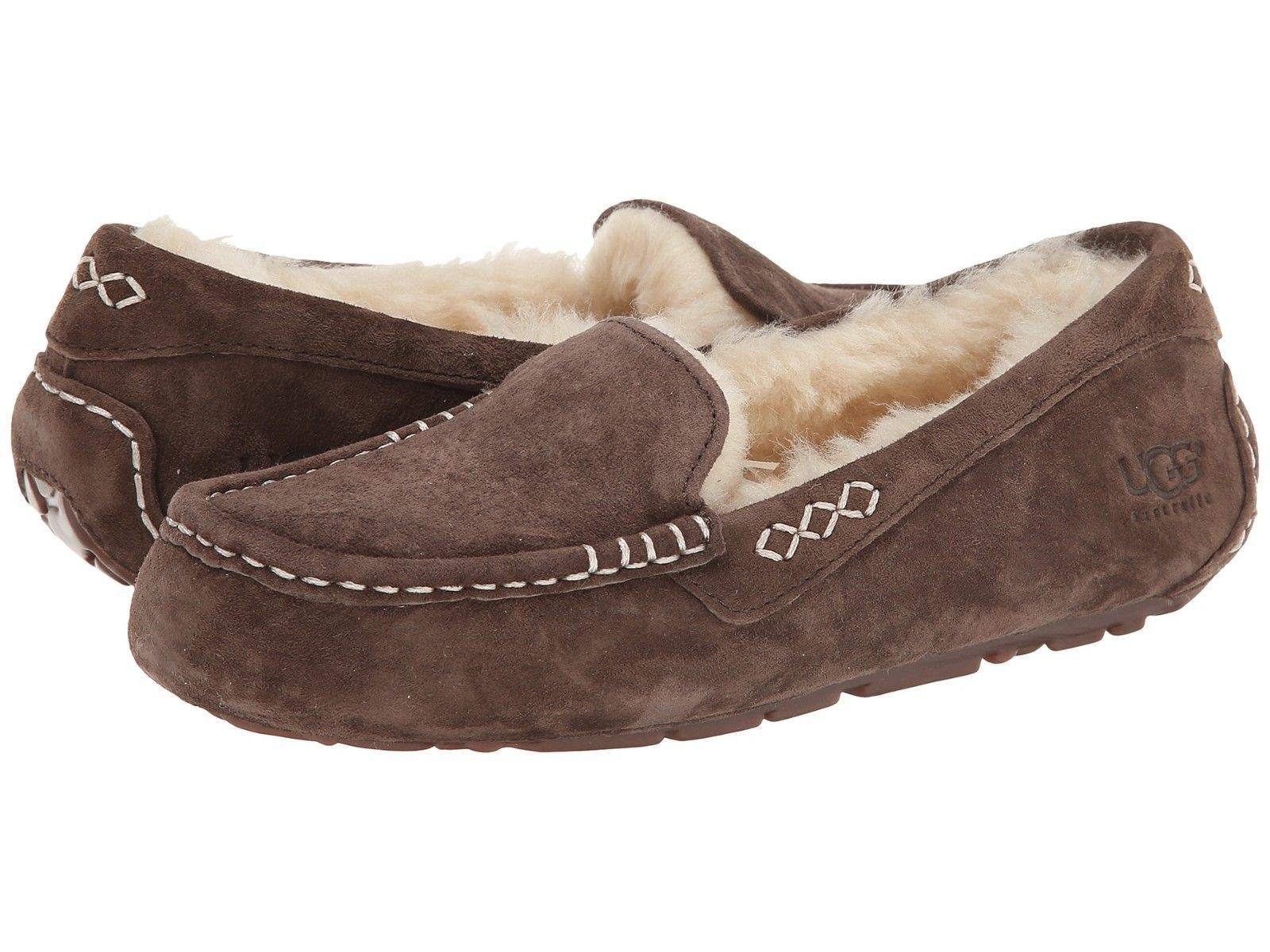 6cb328295ee Details about Women's Shoes UGG Ansley Moccasin Slippers 3312 ...