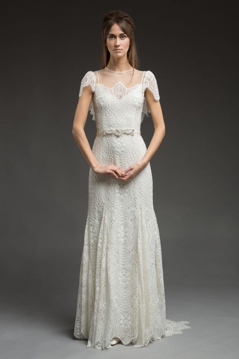 Paisley Wedding Dress From Morning Mist Bridal Collection By Katya Shehurina