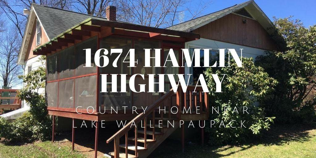 1674 hamlin highway country home near lake wallenpaupack