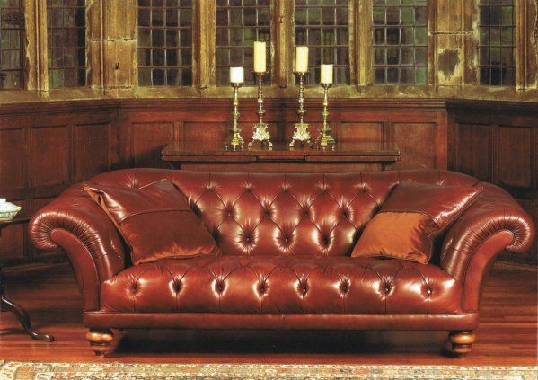 the contrast upholstery ribchester sofa leather sofas chairs
