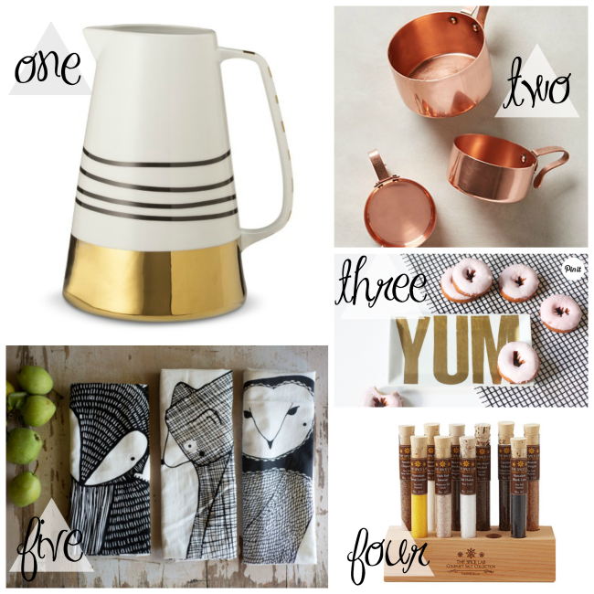 Five Great Gift Guides for all the different friends on your list PLUS a fab giveaway! Don't miss out on some awesome prizes! #holidaygiftgiveaway