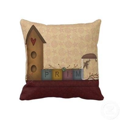 This Primitive Shelf Pillow