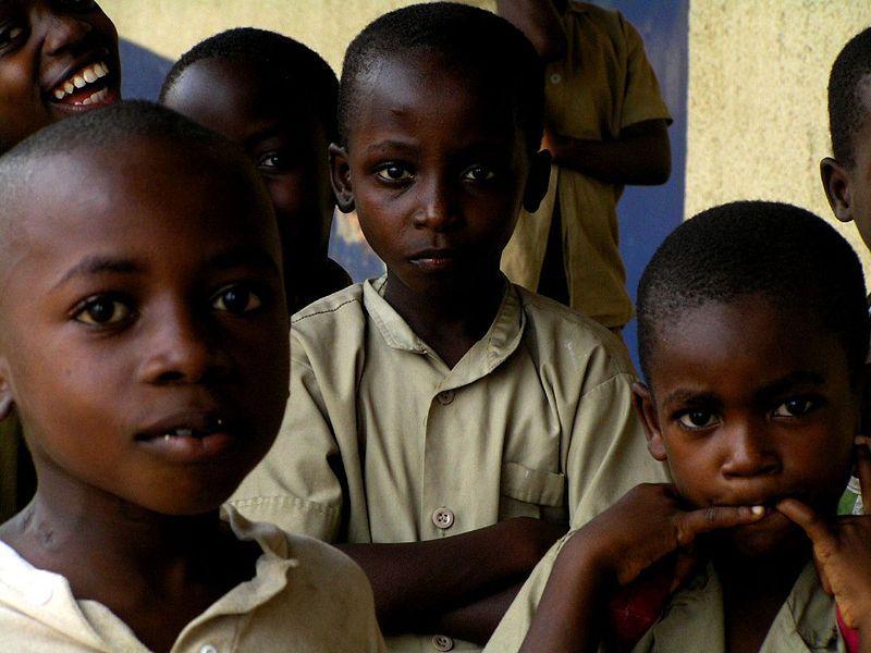 Children in Bujumbura, Burundi
