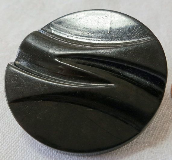 1 Large vintage Bakelite button 1.75 ins by ButtonsAndTreasures