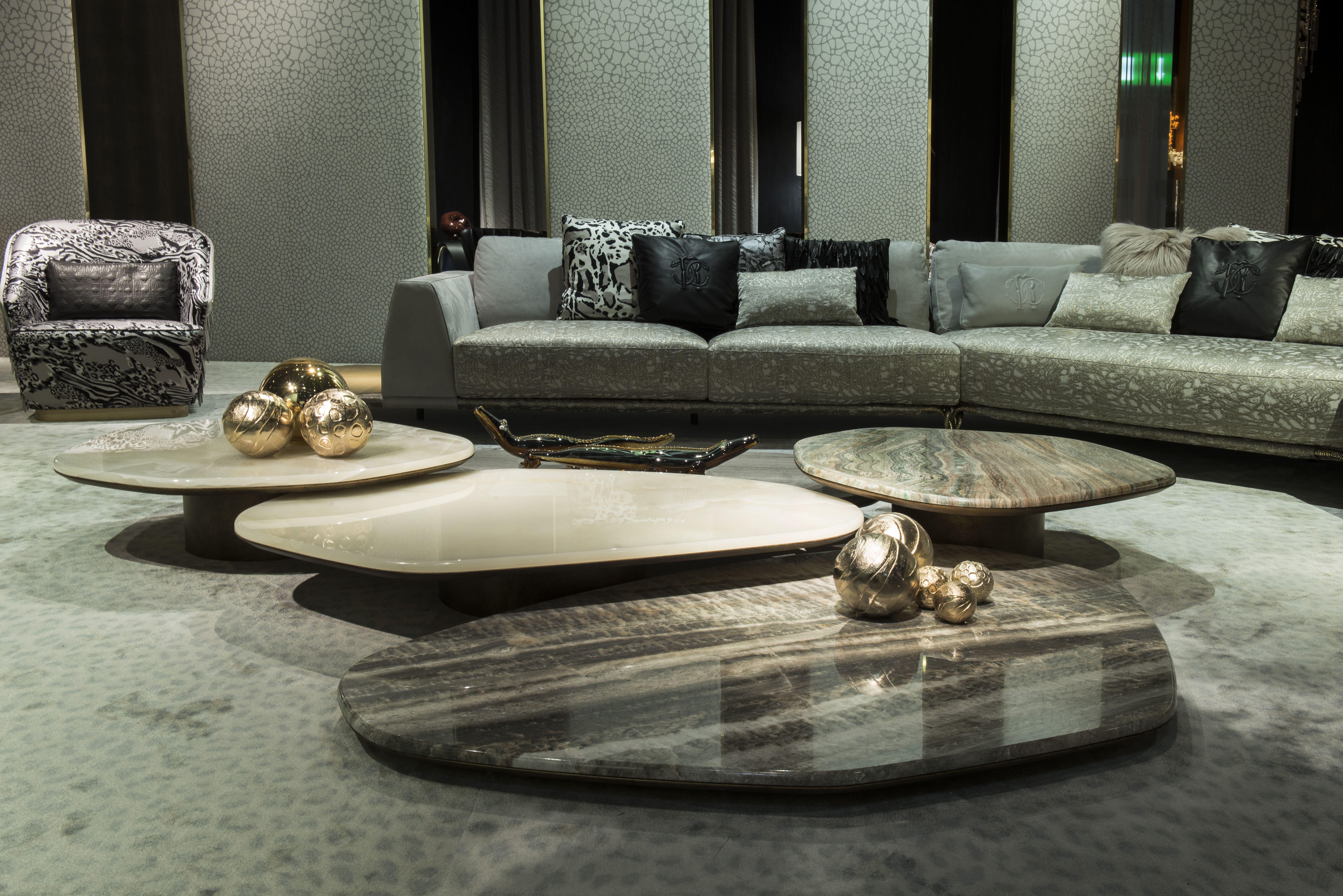 The Roberto Cavalli Turkana Table 2019 Coffee Table Luxury Coffee Table Interior Design [ 4912 x 7360 Pixel ]