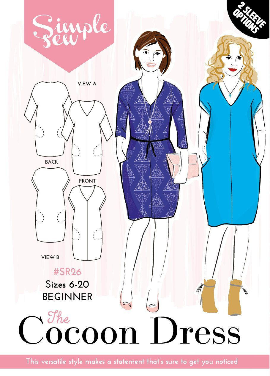 Srbeginneruk sizes the cocoon dress is a statement style