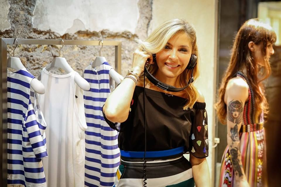 Arzu Sabanci during PINKO by Arzu Sabanci event in Rome for the launch of Spring Summer 2016 collection