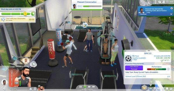 University Sims 4 Mods