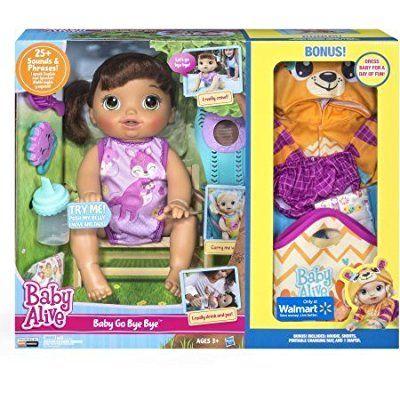 Baby Alive Baby Go Bye Bye Brunette By Baby Alive Http Amzn To 2rke6e3 Allgifts Babyalivebabygo Htt Baby Alive Dolls Baby Girl Toys Baby Alive Doll Clothes