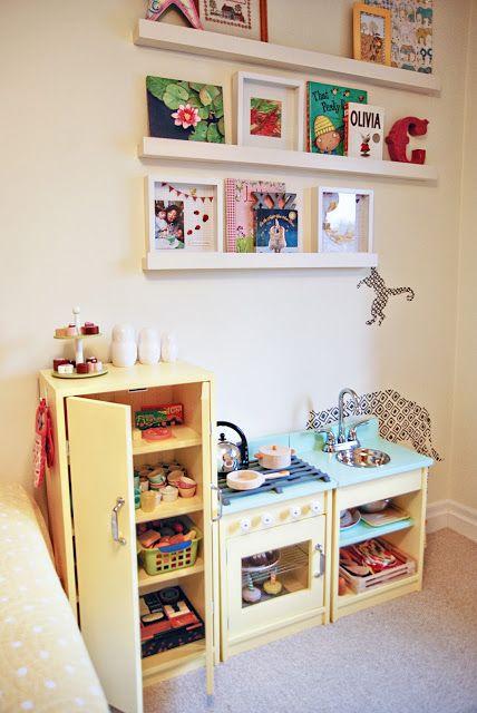 Art display in kids' rooms