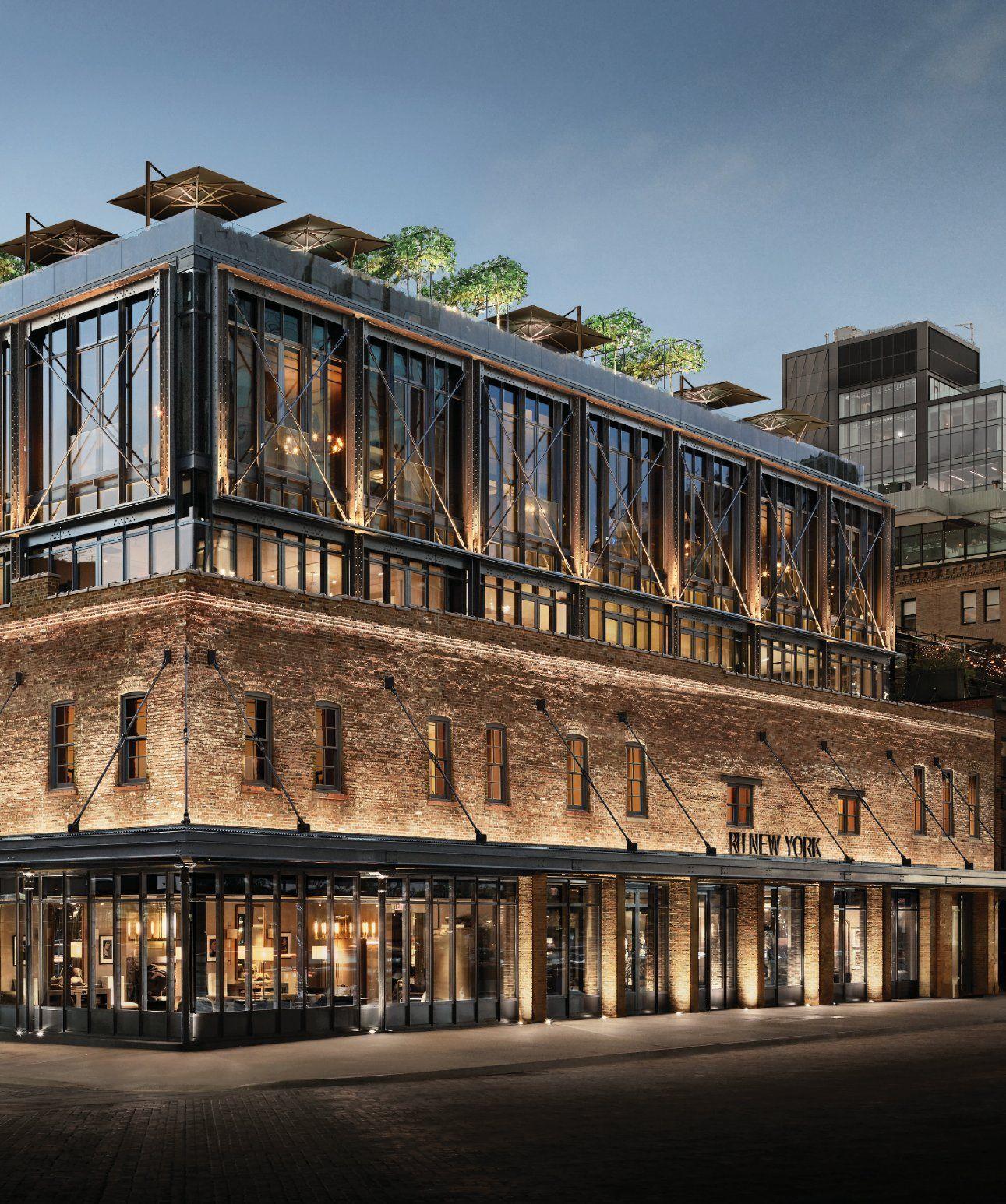 Restoration Hardware New York Rooftop: #RestorationHardware #NY #US Anchor Building Is In 150
