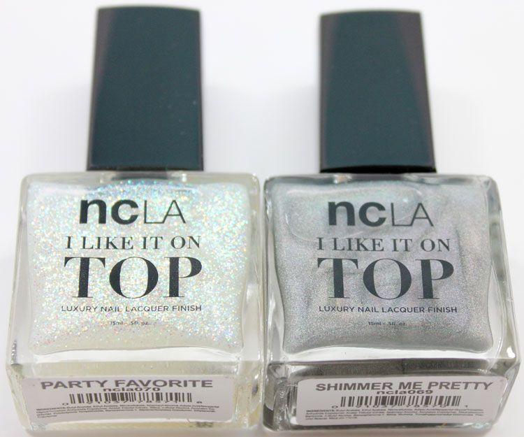 ncLA I Like It On Top Luxury Nail Lacquer Finish | Nailz | Pinterest ...