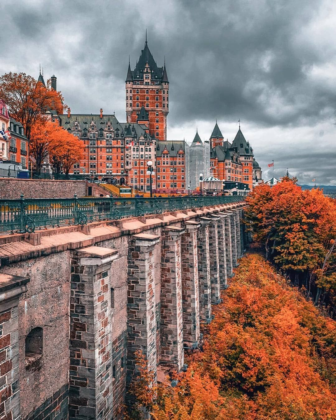 Quebec City S Chateau Frontenac Is The Most Photographed Hotel In The World Picture By Photonicstories Quebec City Frontenac Quebec