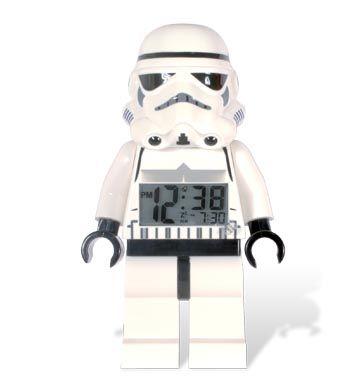 LEGO Stormtrooper Minifigure Clock