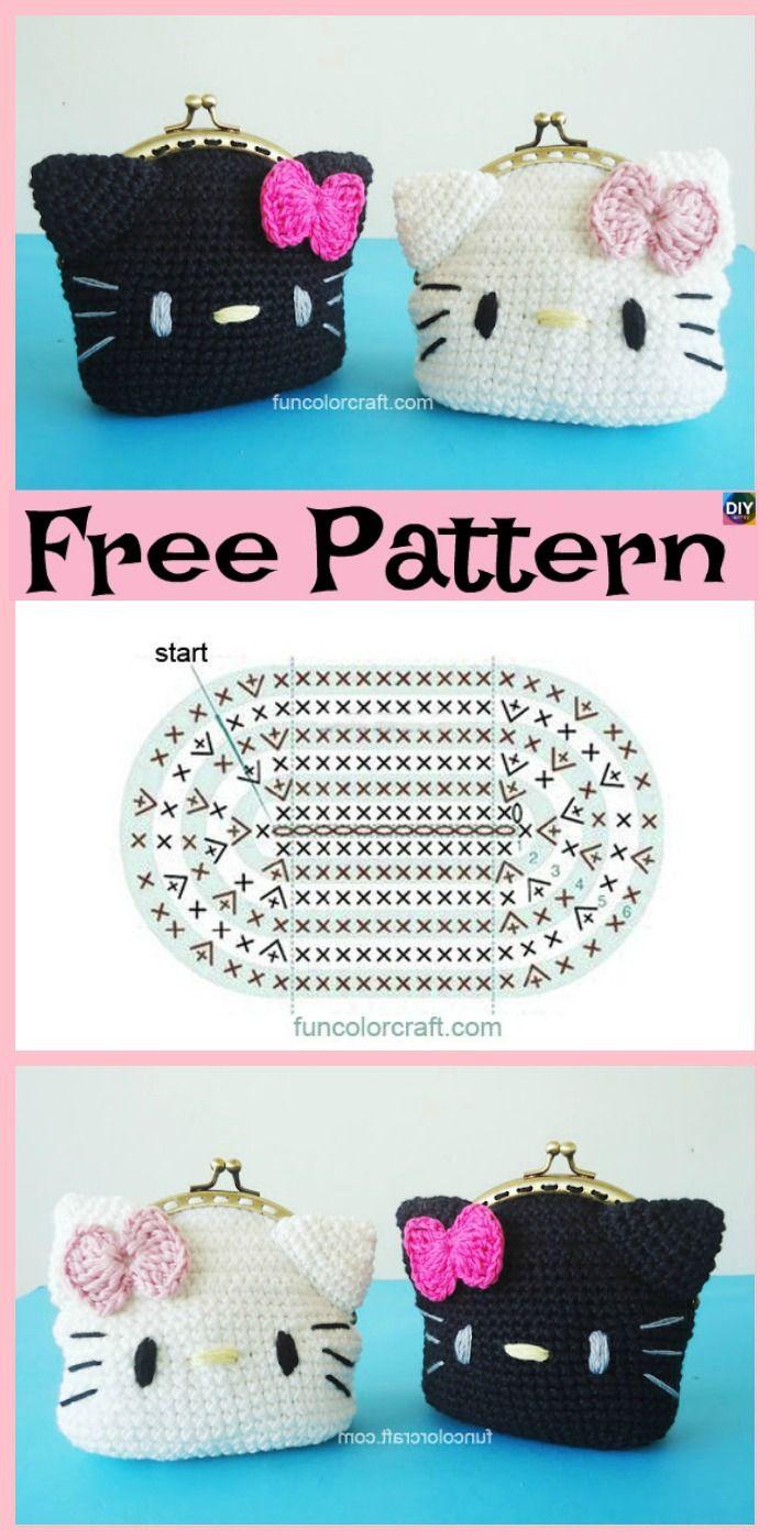 Big Hello Kitty - Free Pattern (Crochet For Children) | Hello ... | 1400x700