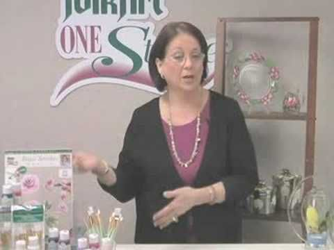 Donna Dewberry Introduces you to Folkart® Enamels paint