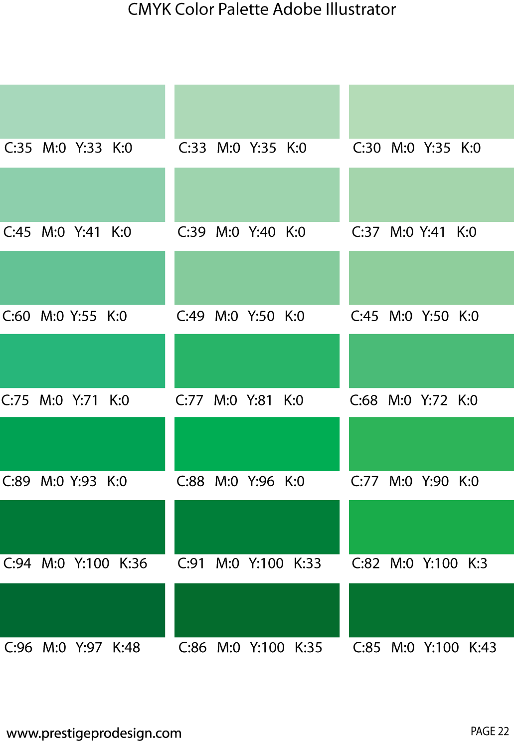 Green Colors For Living Rooms: Green Color Chart, Pantone