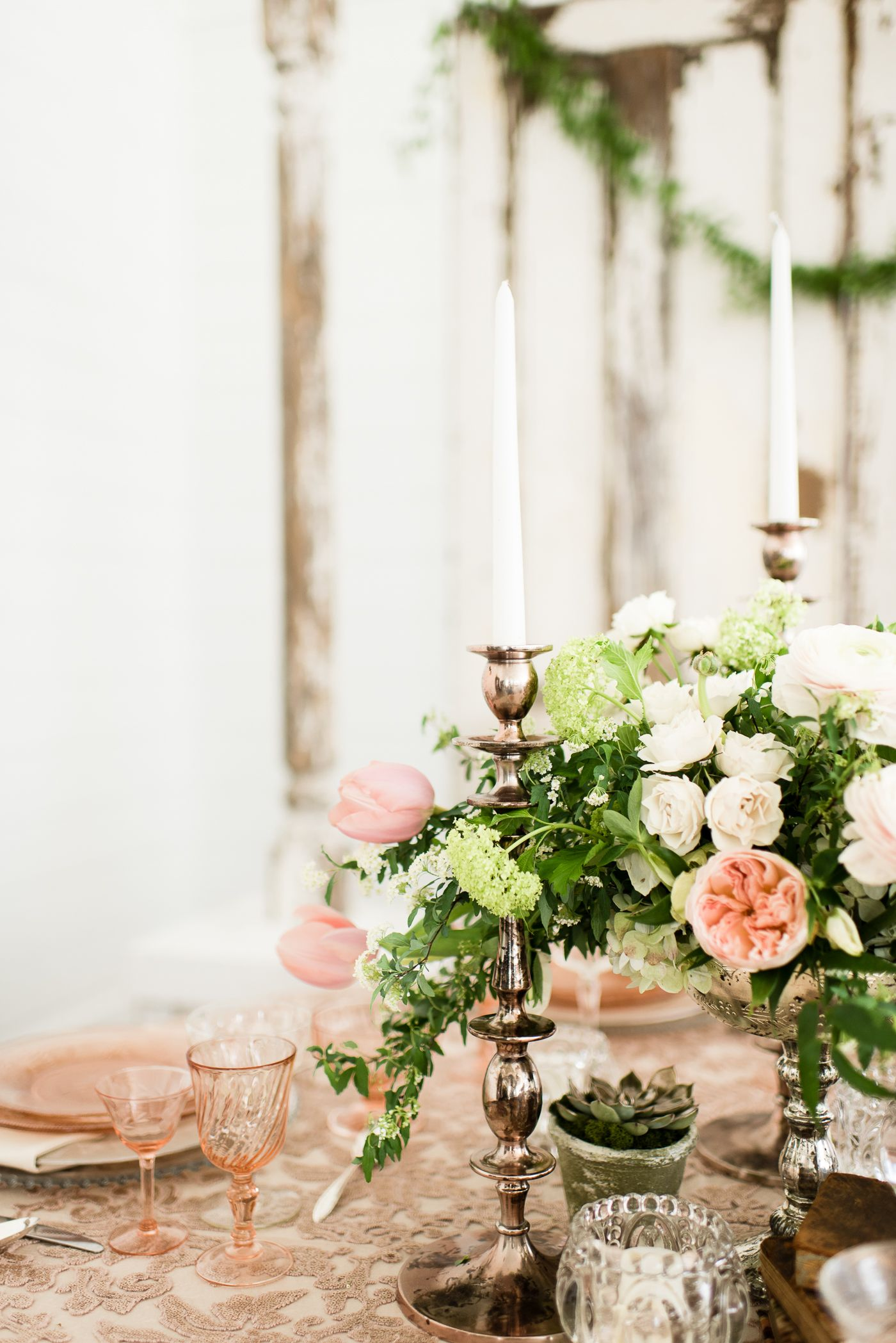 Rose Gold And White Wedding Ideas - The Best Wedding 2018