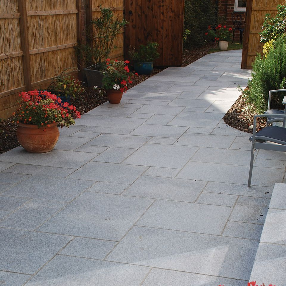 Granite Paving Silver Grey Granite Collection