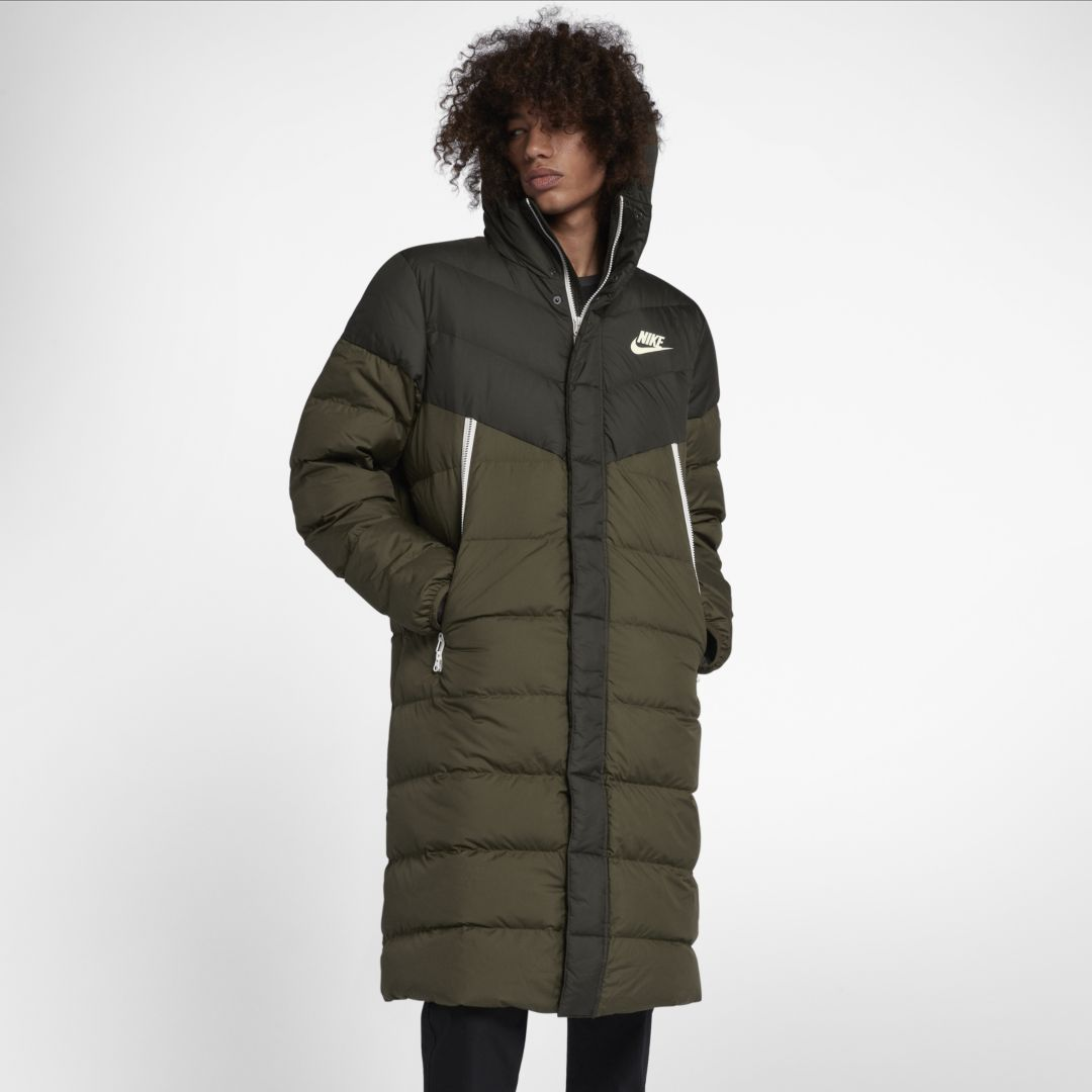 57389935c Nike Sportswear Windrunner Down-Fill Men's Hooded Parka Size 2XL ...