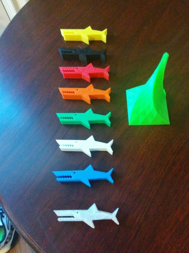 3D Printed Promo Products from the MakerBot. 3D Printing available in July.