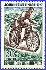 Timbrovelo Bicyclettes Timbres Postaux Cyclisme