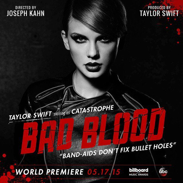 "Pin for Later: Taylor Swift's ""Bad Blood"" Musikvideo ist endlich da Taylor Swift"