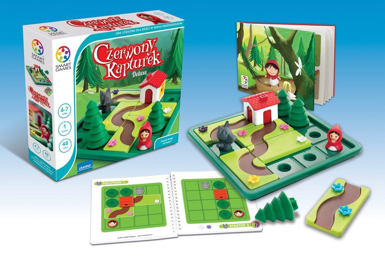 Smart Czerwony Kapturek Granna Sklep Internetowy Gry Planszowe I Edukacyjne Granna Lily