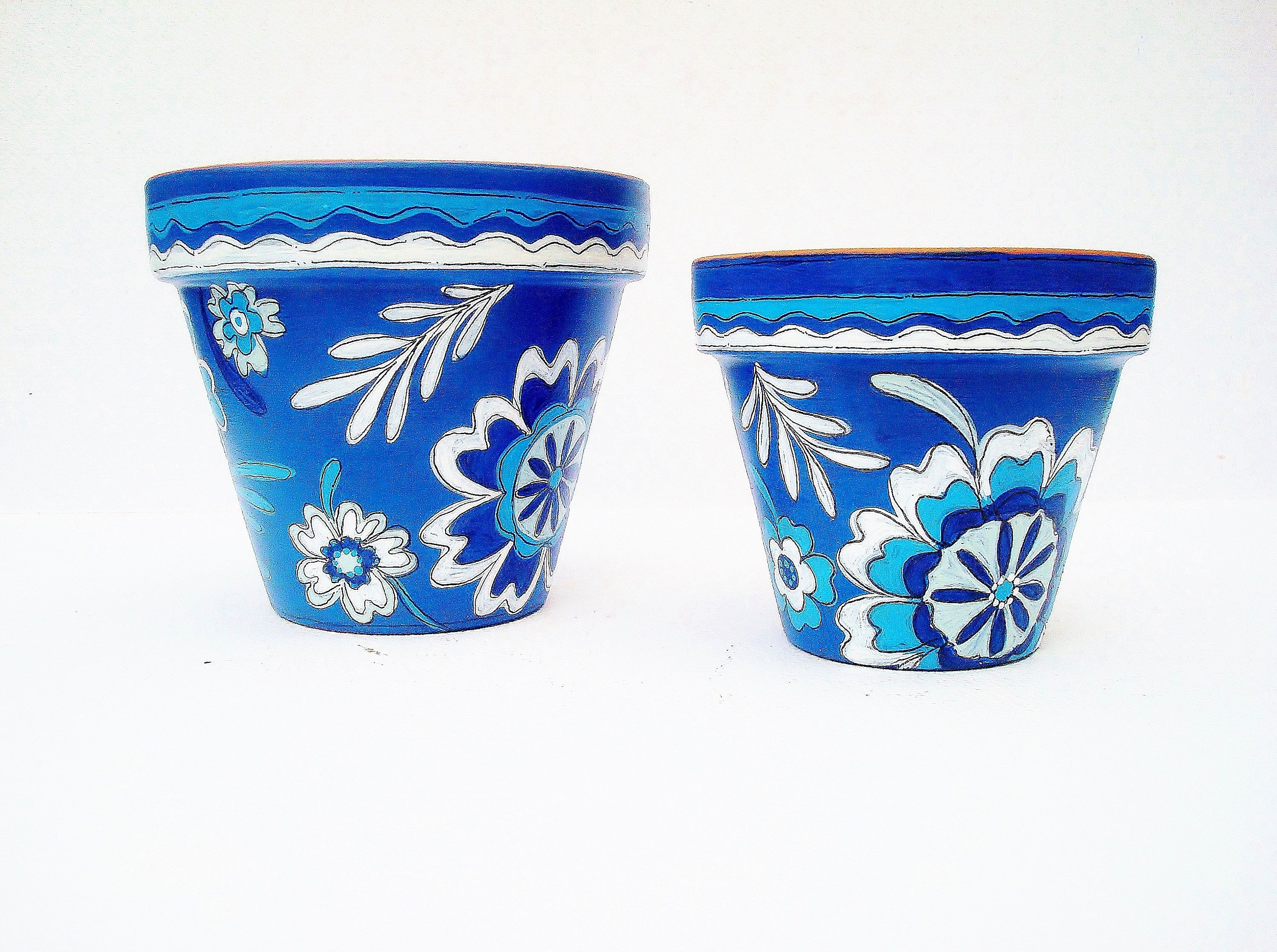 Your Place To Buy And Sell All Things Handmade Painted Terra Cotta Pots Flower Pots Small Planter