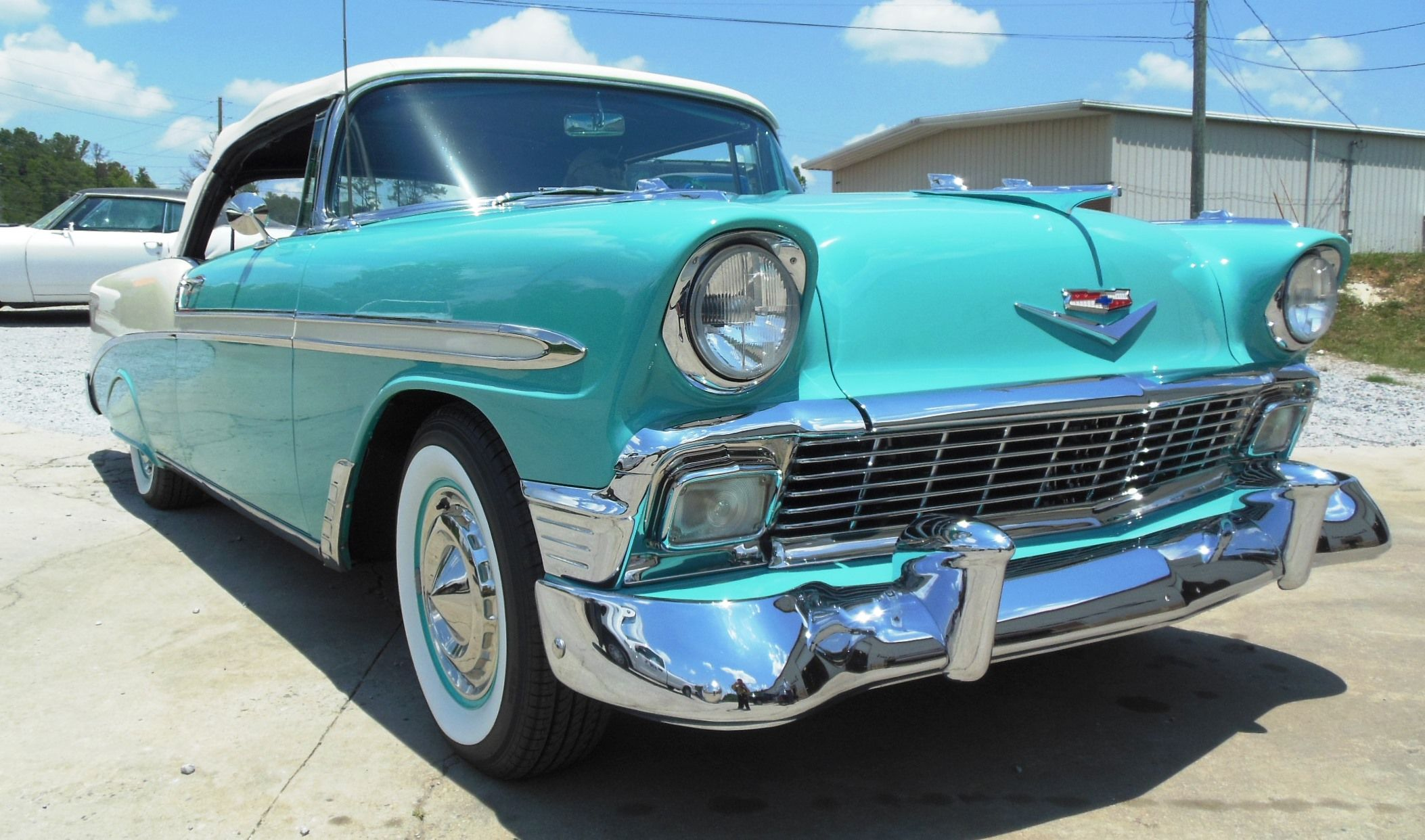 1956 Chevy Bel Air restored by Impatient Creations, Inc. in ...