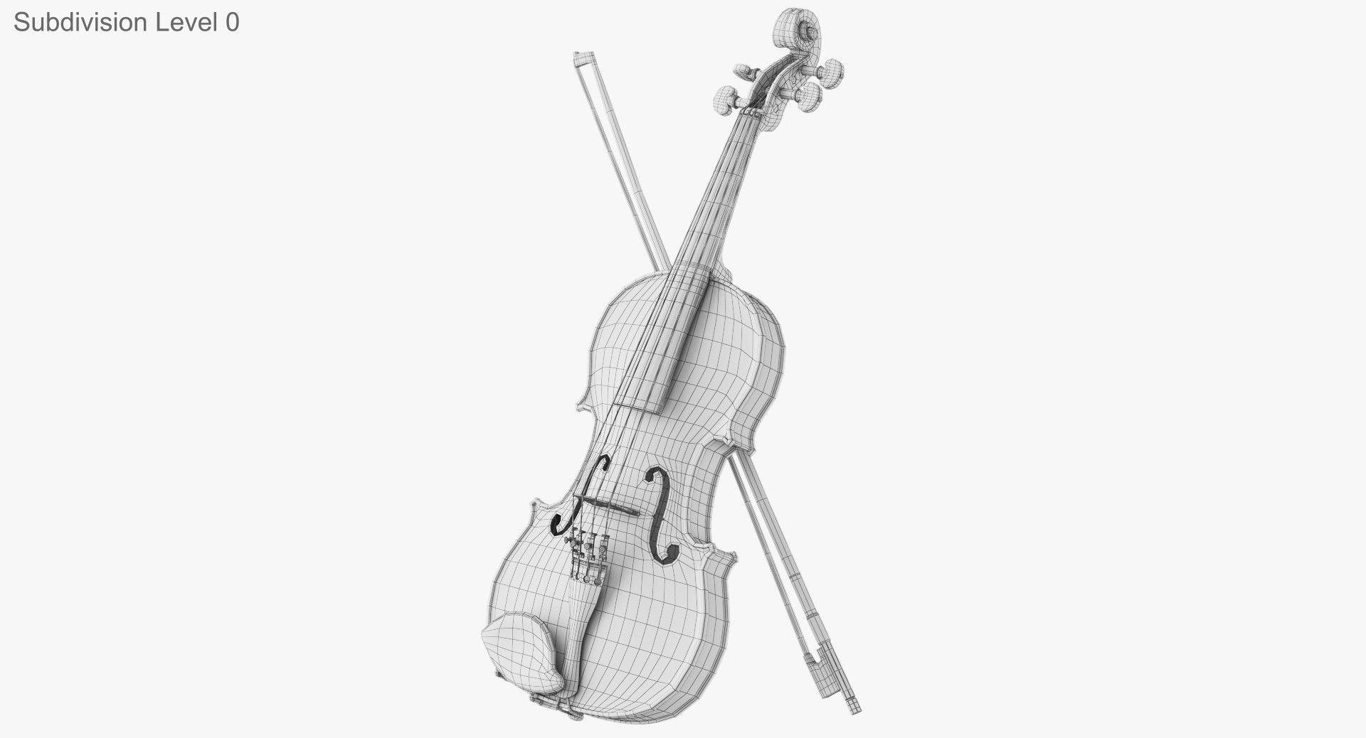 ArtStation - Violin , Dima Ishutin