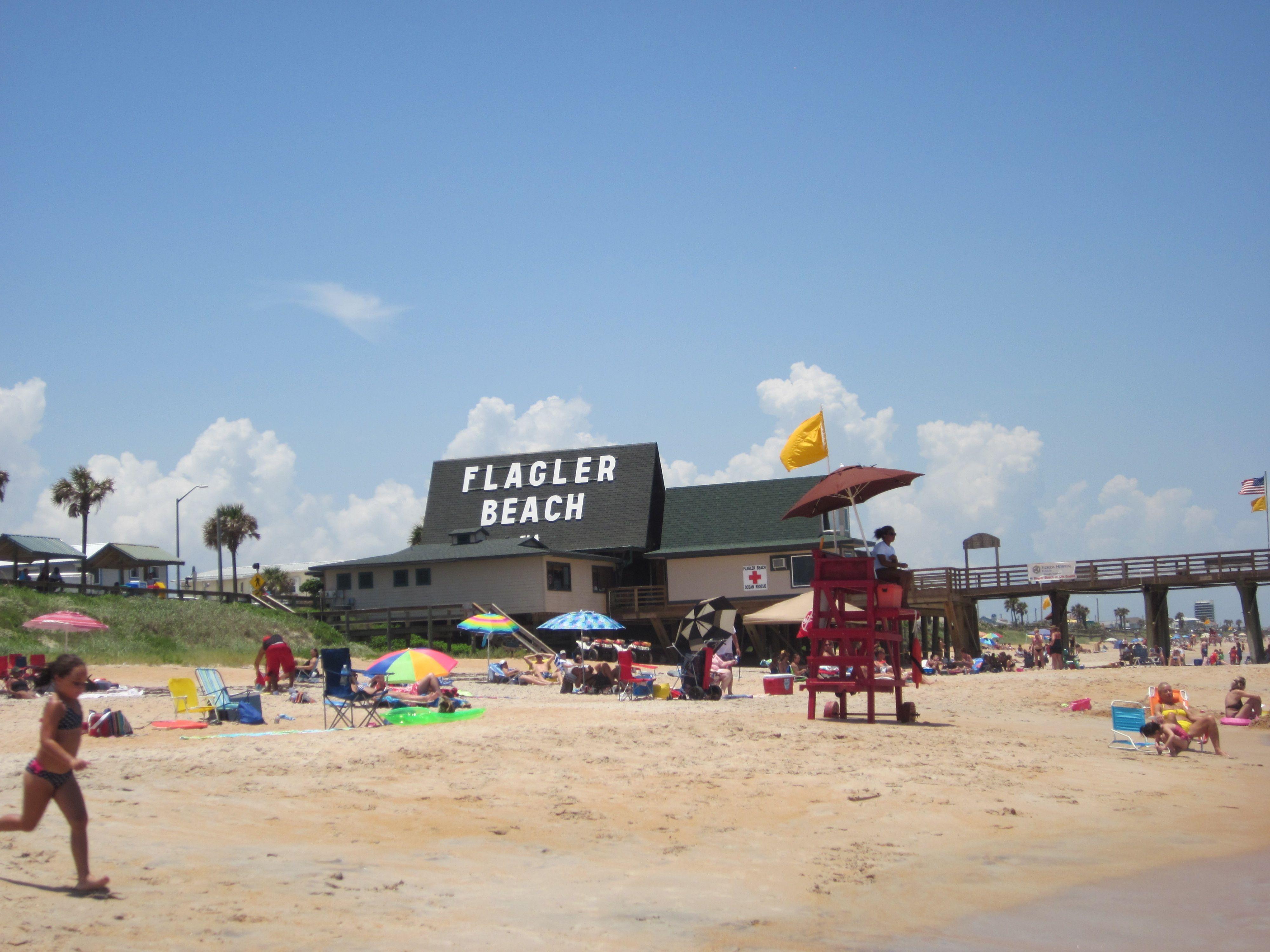 Flagler Beach Pier Near Palm Coast